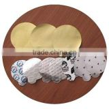 Aluminum foil seal liner with ears,heat seal induction aluminium foil seals/lids/liners for bottle