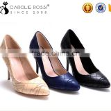 Women high heel gao moda shoes rubber sole pu dancing shoes zapatillas