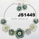 2014 charm beautiful fashion flower necklace