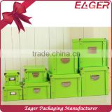Cardboard storage boxes with lids, decorative storage boxes wholesale                                                                         Quality Choice