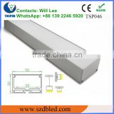 Ceiling edge lighting aluminium profil decoration/ wall ceiling led profile