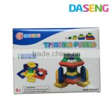 2015 hot 15 pieces building connecting blocks toy