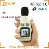 High Quality Digital Performance Digital db Sound Level Meter with LCD Backlight