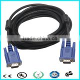 LCD TV 2m blue head vga to vga cable