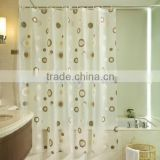 Latest Promotional Wholesale Bright Color Shower Curtains
