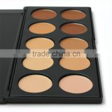 professional makeup face care and beauty product concealer palette contour cream 10 colors makeup Concealer