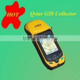 Mini outlook handheld GPS receiver with dual module