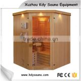 Traditional steam bath sauna room 6 person(customized) use dry steam sauna room steam shower cabin sauna