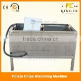 Potato blanching machine for potato chips making machine