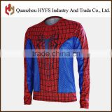 Mountain Cycling Bike Long Sleeve Clothing Italian 2016 Neri Mesh Fabric Spider Long Sleeve Cycling Jersey Summer