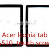 New Touch Screen Digitizer Replacement Glass Lens Repairing Parts For Acer Iconia Tab A510 A511 Tablet