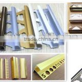 aluminum punched metal stair treads/stair carpet edge/stair tile nosing