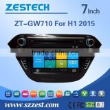 ZESTECH Factory 7 inch HD touch screen Car dvd player for Great Wall H1 2015 with GPS +3G+AM/FM+USB/SD + DVD+ATV