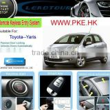 Auto Smart Start System Passive Keyless Entry PKE Remote Start Push Button Start Car for Toyota Yaris