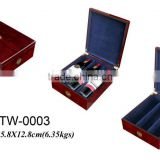custom wooden wine packing box wholesale wine gift set