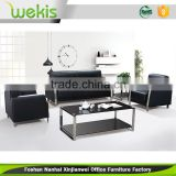 2016 hot selling cheap stainless steel legs used leather furniture sofa set price in india