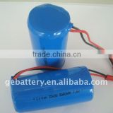 High energy density Li-ion battery batteries 32650 5500mah, cylinder lithium battery cell 3.6v 5500mah