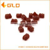 Hot sell vitamin C and echinacea gelatin gummy bear for child