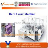 Automatic hardcover making machine