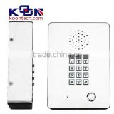 hospital service system Phone IP Door Intercom KNZD-03 IP Elevator Telephone Lift Telephone