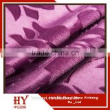 Hot selling Flowers Pattern 100% Polyester Embossed Velvet Upholstery Fabric for Home Textile