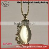 wholesale suppliers new fashion necklace 2015 pave diamond jewelry gemstone pendant necklace