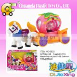 Chuangfa toys--Battery operation horse carriage with light & music, Electric princess carriage for girls