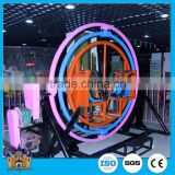 [direct factory] amusement park human gyroscope rides / trailer mounted kiddie rides