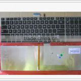 Black Laptop US Keyboard For Toshiba L850 L855D P850 C850 L850D P850 With Backlight
