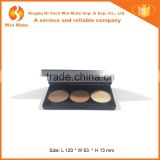 High-end 3 Pan Contour, Bronzer, Highlight Matte Colors Custom Eyeshadow Palette