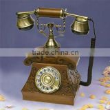Wooden Decoration Antique Rotary phones