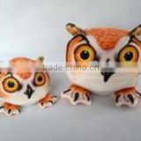 promotional gift plush toy owl with beans 3 D printing plush owl earthbag small size stuffed plush earthbag with beans