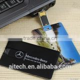 Promotional Customzied logo usb card, cheapest Factoy price business card usb flash, 100% real capacity credit card usb 3.0