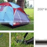 Outdoor 10+ Person Portable Single Layer Patio Pop Up Folding Family Tent Camping Hiking Tent