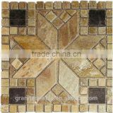 High Quality Square Mosaic Slate For Bathroom/Flooring/Wall etc & Mosaic Tiles On Sale With Low Price