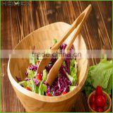 Cheap Large Personalized Unique Bamboo Salad Bowl, Mixing Bowl, Soup Bowl/Homex_Factory