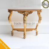 New Arrival Living Room Furniture Console Desk In Wood Veneer Top