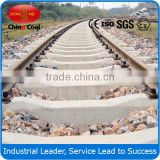 Railway used rail steel prestressed concrete sleeper hot selling