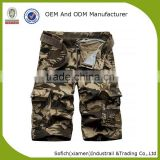 Cargo shorts men half pants with belts for mens