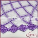 nets chemical embroidery lace fabric for dress/tunic/blouse/cardigan/home textile/tablecloth