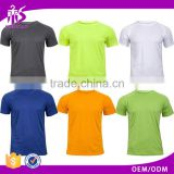 Guangzhou Shandao New Arrival Men 180g 100% Polyester Dry Fit Summer Short Sleeve Micro Fiber T Shirts