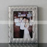 Factory best selling Aluminum Picture Frame , Metal Silver Plated Photo Frame , Love Photo Frame
