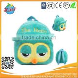 cartoon plush animal school bag fo kids new products