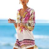 Best quality women beach dress cover up beach dress beach girls without dress