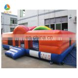 Wonderful bouncy fun city inflated children playground