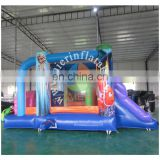 2016 Aier Popular Newest cheap combo of inflatable castle with obstacle course