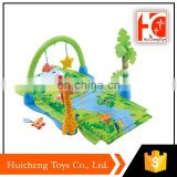 alibaba most popular products tropical rain forest baby play gym mat for wholesale