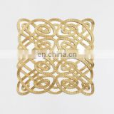Chinese knot gold rope placemat