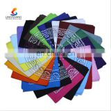 2016 Custom colorful printing bandana