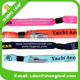 CONCERT cloth wristband with plastic clip